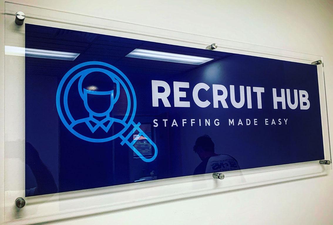 Acrylic Office Sign
