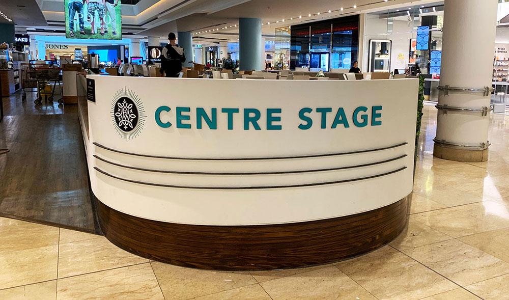 Cafe Shopfront Sign