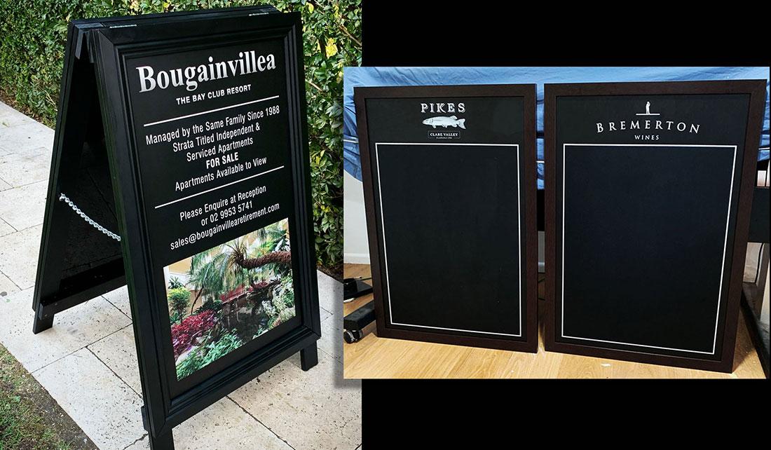Aframes & Promotional Blackboards